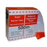 Afzetlint rood-wit   doos 500 meter