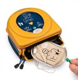 AED Heatsine Samaritan 500P - AKTIE- GRATIS KAST