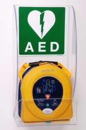 Wandhouder AED Plexiglas wandhouder voor Samaritan