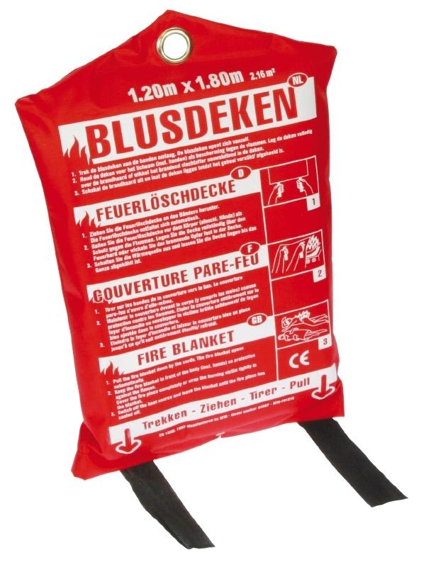 Blusdeken 1x1m - (softbag)