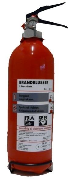 Brandblusser sproeischuimblusser 2 liter -VORSTBESTENDIG