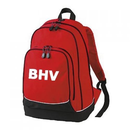 BHV rugtas Rood  -Leeg-