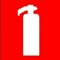 Pictogram brandblusser