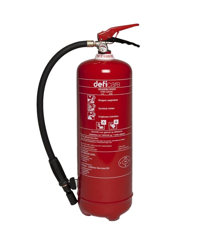 Brandblusser sproeischuimblusser 6 liter - Budget -