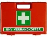 Verbandkoffer BHV Universeel Oranje kruis  - medium -