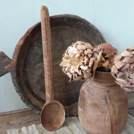 Nepalese houten lepel no.4