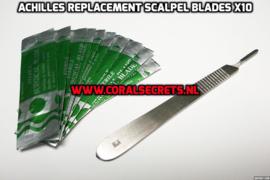 Achilles Replacement Scalpel Blades x10