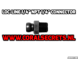 "Loc-Line 1/4"" NPT 1/4"" Connector"