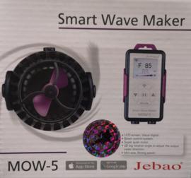Jecod / Jebao MOW-5 Stromingspomp met LCD Display Controller en Wifi Controlled