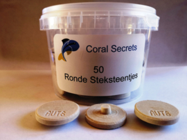 Coral Secrets Ronde Steksteentjes