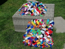 Kant-en-klare Snuffelmat XL MultiColor (14 kleuren)