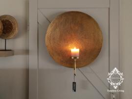 Lifestyle Wandkandelaar - Antiek Goud