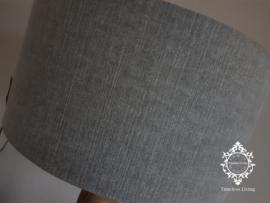Vloerlamp hout verouderd sober - Maat XL