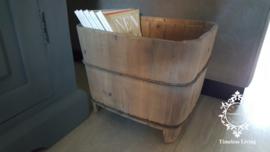 Oude Bak - Lectuurbak oud sober hout no. 1