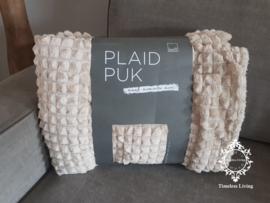 Leeff Plaid - Taupe 150 x 125 cm.
