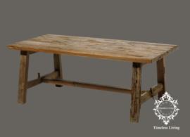 Salontafel vergrijsd oud hout - Charelle