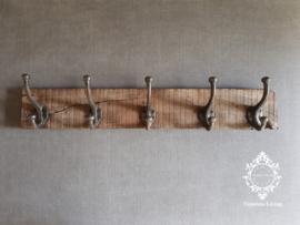 Kapstok - Stoer & sober oud hout no. 29