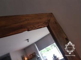 Spiegel sober driftwood - massief houten lijst (meerdere maten)