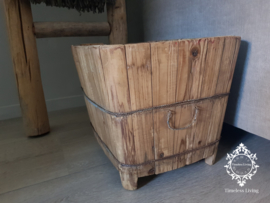 Oude Bak - Lectuurbak oud sober hout no. 2
