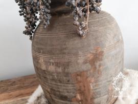 Oud houten Nepalese kruik no. 19