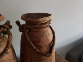 Oud houten Nepalese kruik no. 18
