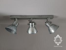 Plafondlamp Industrieel Angelique 3 spots - Vintage Metaal