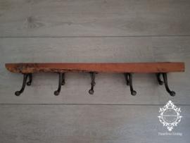 Kapstok - Stoer & sober oud hout no. 22