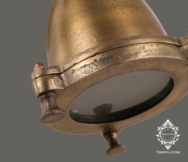 Wandlamp Industrieel Mias XS - Vintage Brons