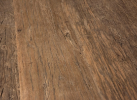 Eettafel Massimo - Rond Sober industrieel robuust oud hout
