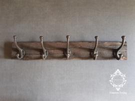 Kapstok - Stoer & sober oud hout no. 28