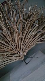 Stoer driftwood takken decoratie op standaard