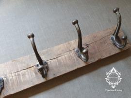Kapstok - Stoer & sober oud hout no. 32