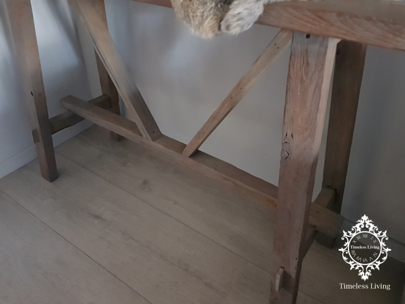 Side Table Oud Teak.Sidetable Oud Teak Hout Charelle Sidetables Timeless
