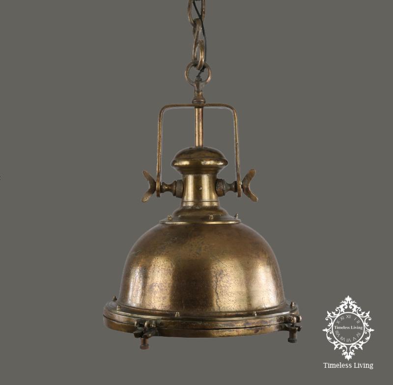 Hanglamp Joey - Industrieel Antiek brons Ø 40 (SALE Artikel)