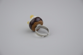 Chocolade taartje ring