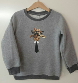 Giraffe sweater - Maat 110