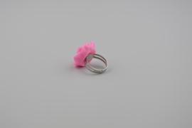 Light pink rose ring