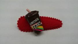 Unicorn milkshake chocolade - 1 stuk