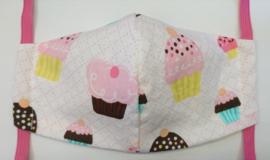BASIC cupcakes GLAD - Maat volwassenen