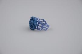 Filigraan roosje ring