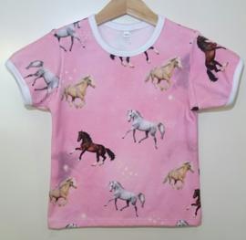 Paarden shirt - Maat 104