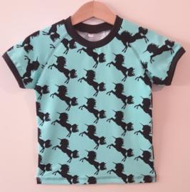 Eenhoorn t-shirt - Maat 98