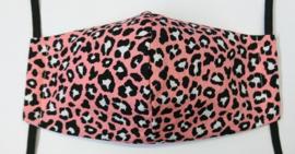 Basic panter pink GLAD - Maat volwassenen