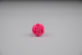 Neon roze ring