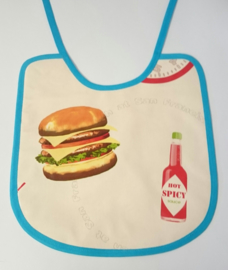 Tafelzeil slab sushi en hamburger dubbelzijdig
