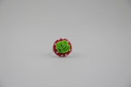 Polkadot green ring