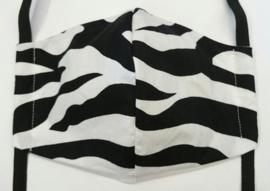 BASIC zebra GLAD - Maat tieners/smal gezicht