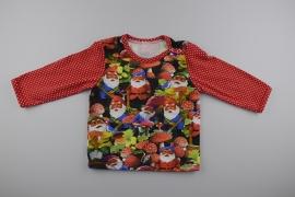 Kaboutertjes shirt - Maat 74
