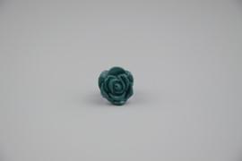 Filigraan blauw roos