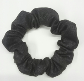 Scrunchie BASIC - leather look